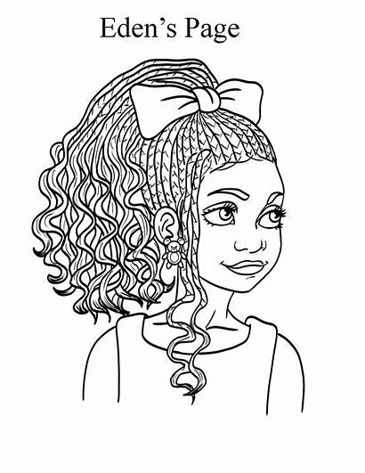 Coloring Pages African American Sheets Books Printable