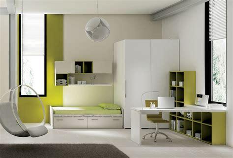 chambre ado avec lit avec rangement compact so