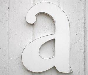wooden letters 12 a lowercase distressed white wood With lowercase wooden letters