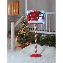 christmas countdown sign christmas decor walmart com