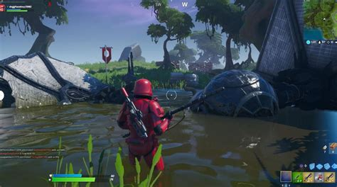 fortnite tie fighter crash site locations