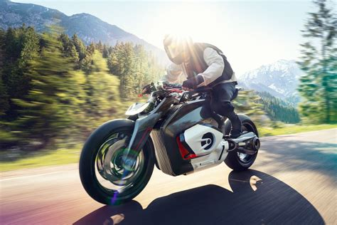 Bmw Electric Motorcycle by Bmw S New Electric Motorcycle Concept Is A Fresh Vision Of