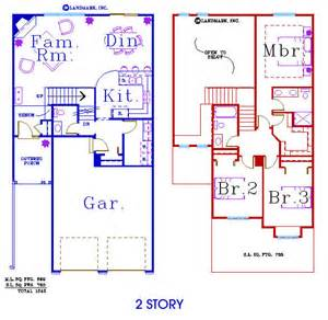 two story condo floor plans villas and townhomes
