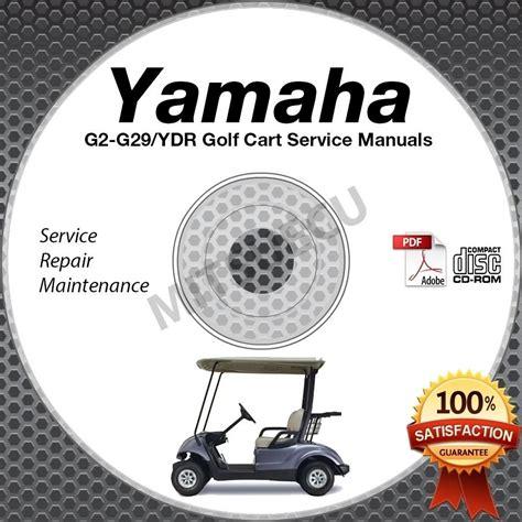Yamaha Golf Cart Service Manual Dvd