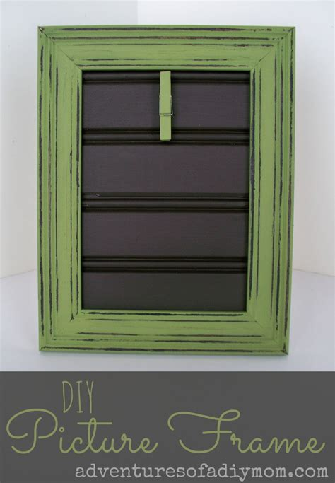 How To Make A Beadboard Picture Frame  Adventures Of A