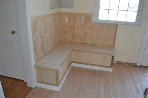 built in kitchen bench seating with storage custom built in gallery monk s home improvements 9779