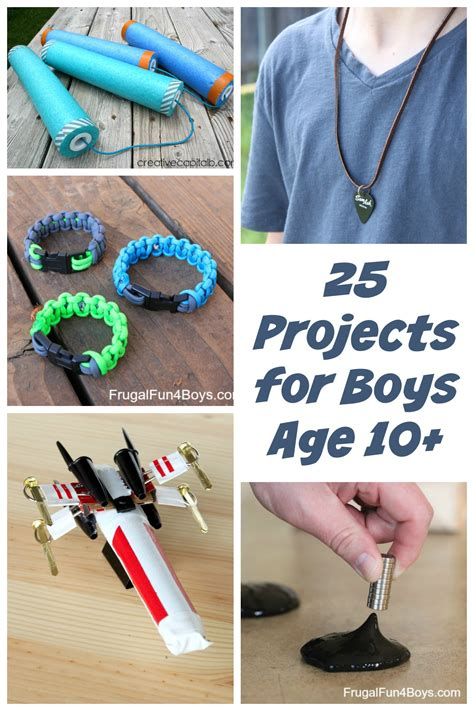 25 awesome projects for tween and teen boys ages 10 and up