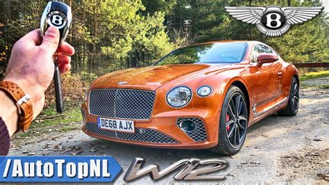 bentley continental gt  review pov test drive