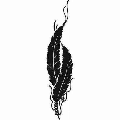 Clipart Indian Feathers Native Clip Clker Vector