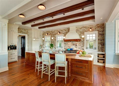 exposed brick backsplash kitchen exposed brick 14 reasons to the look bob vila 7103