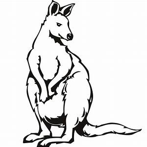 Image Gallery kangaroo coloring pages