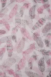 Document A Garder : charpe imprim de plumes roses et grises ~ Gottalentnigeria.com Avis de Voitures