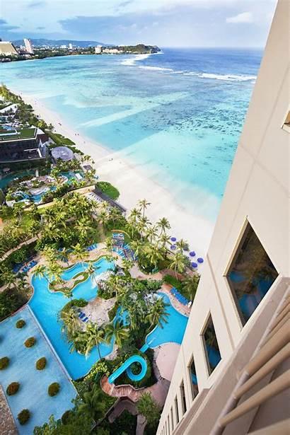 Resort Beach Guam Outrigger Hotel Property Tumon