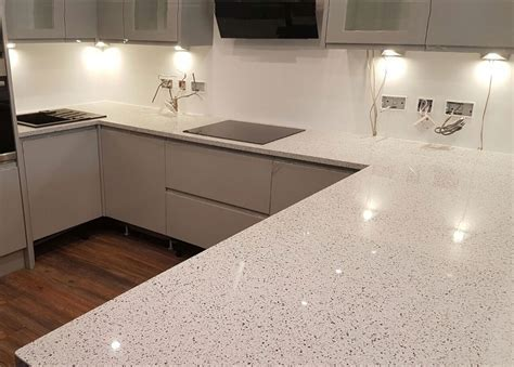 Chrome Quartz Worktops from Mayfair Granite