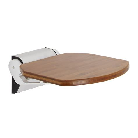 seat wall height new modern bathroom folding shower seat wall mount bath bench adjustable height ebay