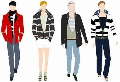 Clipart Male Mens Clothing Suit Models Clothes