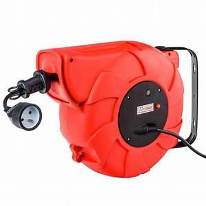 Enrouleur Electrique Automatique : enrouleur lectrique automatique 22 m tres l 39 lectricit ~ Edinachiropracticcenter.com Idées de Décoration
