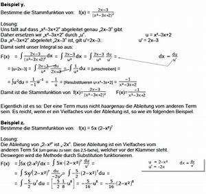 Aufleitung Berechnen : stammfunktion bilden fl che berechnen integral bilden integral mathe ~ Themetempest.com Abrechnung