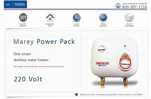 220 Volt Electric Tankless Instant On