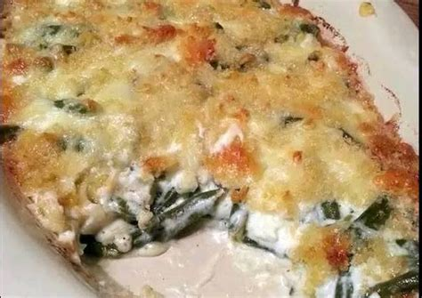 swiss green bean casserole recipe  alexandrian cookpad