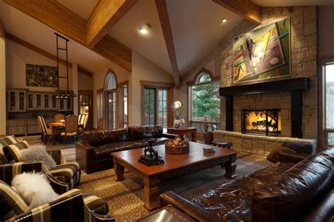 Living Room Fireplace : 25 Cozy Living Rooms With Fireplaces