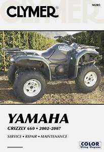 Yamaha Grizzly 660 2002 2007 Clymer Motorcycle Repair Clymer Color Wiring Diagrams
