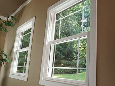 energy efficient pella  series vinyl double hung windows convey  beautiful