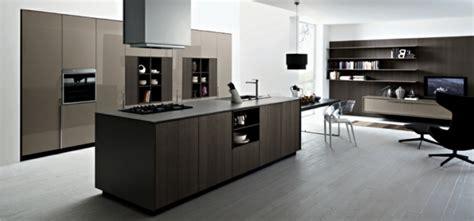 cuisine luxueuse le meuble pour four encastrable dans la cuisine moderne