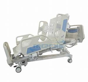 Electric Hospital Bed 5 Functions With Articulated Joint