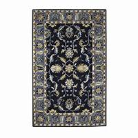 home depot rugs Home Decorators Collection Aristocrat Blue 9 ft. x 12 ft ...