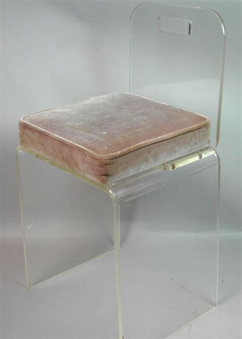 Acrylic Desk Chair With Cushion by 25 Best Ideas About Acrylic Chair On Ghost