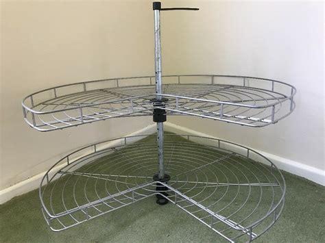 ikea utrusta corner base cabinet carousel  cm  kirkburton west yorkshire gumtree
