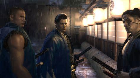 yakuza ishin trailers screens emerge  tgs vg