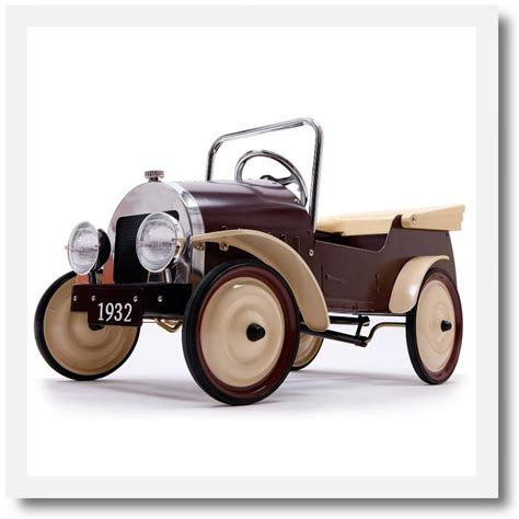 baghera classic country pedal car toys mee mee london