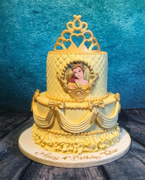 Best Images About Disney Beauty The Beast Cakes