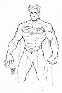 Pencil Work: Superman by DaggerPoint on DeviantArt
