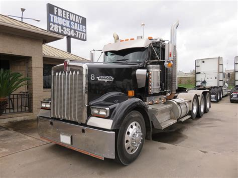 kenworth trucks for sale in houston tx kenworth w900l in texas for sale 121 used trucks from 21 300