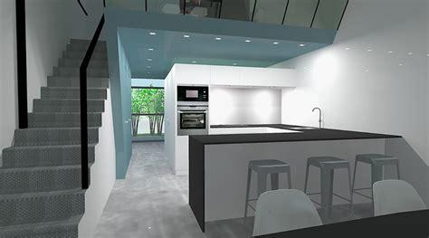 cuisine dans loft amenagement d 39 un loft dans un site industriel par bassery