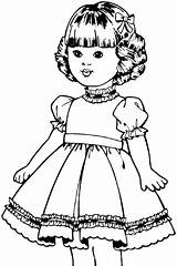 Coloring Pages Doll American Cute Dolls Printable Paper Bestcoloringpagesforkids Kit Books Adults Isabelle Colorings Christmas Activities Fun Getcolorings Getdrawings sketch template