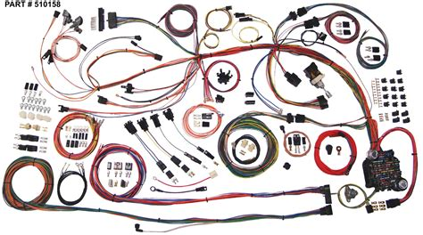 66 Mustang Wiring Harnes Aftermarket by 1968 1969 Chevrolet Chevelle Restomod Wiring System