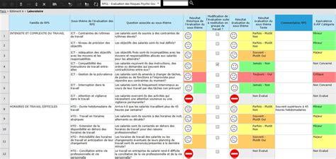 modèle document unique word logiciel evaluation des risques psychosociaux inrs ed 6140