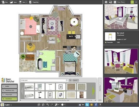 create professional interior design drawings