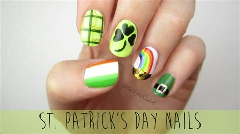 st patricks day nail designs nail for st s day a mini guide