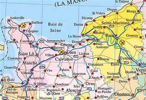 Carte De Normandie Detaillee by L 233 Cole Sans Les Colles La Normandie