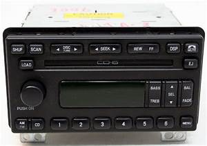 Ford Mustang 2001-2004 Factory Stereo 6 Disc Changer CD Player OEM AM/FM Radio - R-3006