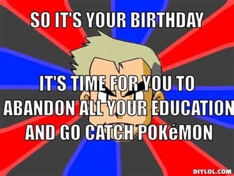 Pokemon Birthday Meme - pokemon happy birthday quotes quotesgram