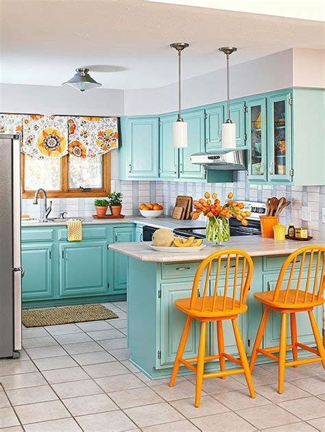 charming pastel kitchens    absolutely love
