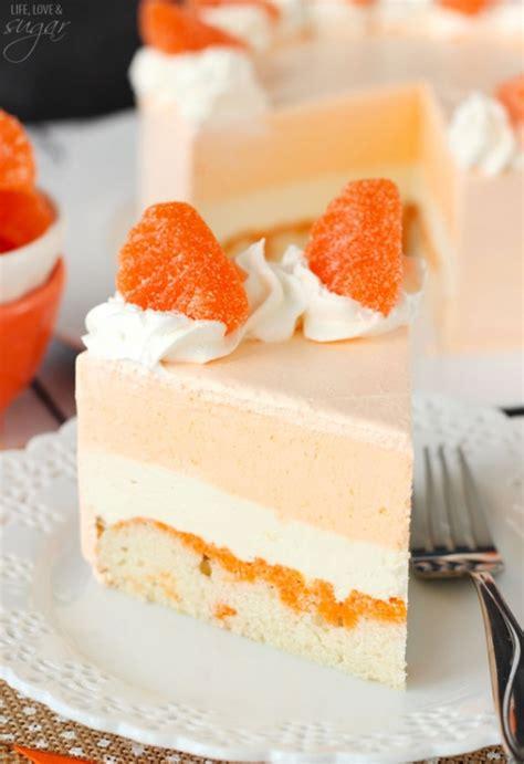 orange colored desserts orange creamsicle ice cream cake keeprecipes your universal recipe box