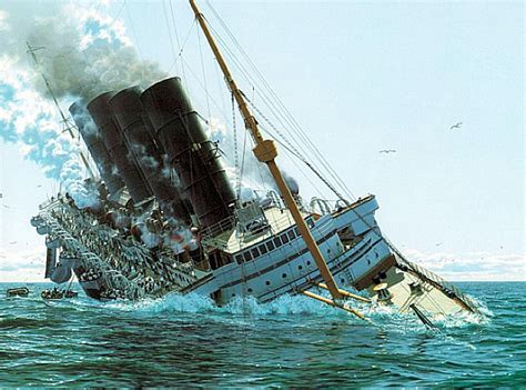 Rms Lusitania Wreck Photos by Hmhs Britannic