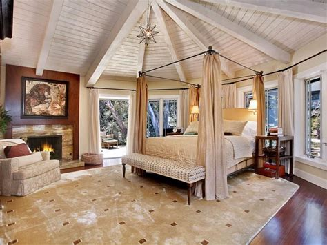 gorgeous master bedrooms  hardwood floors art